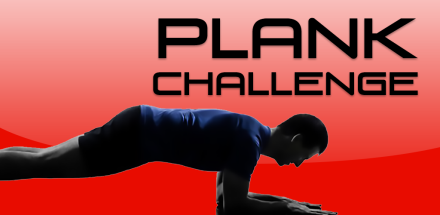30 Day Plank Challenge Feature Graphic