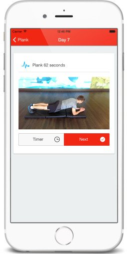 30 Day Plank Challenge App